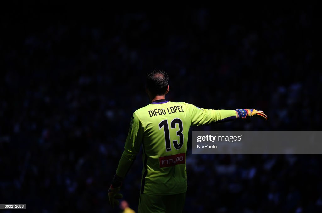 Diego Lopez during the match between RCD Espanyol and Deportivo Alaves, on April 08, 2017.