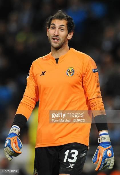 Diego Lopez Villareal goalkeeper