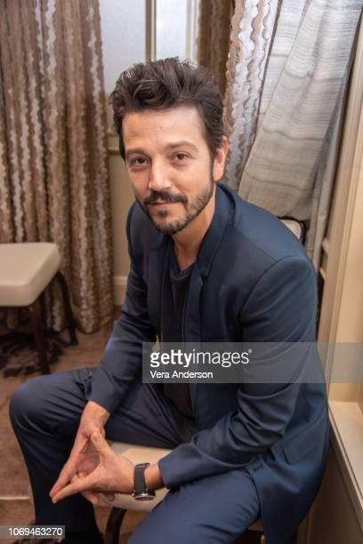 Diego Luna at the If Beale Street Could Talk Press Conference at the Four Seasons Hotel on November 17 2018 in Beverly Hills California