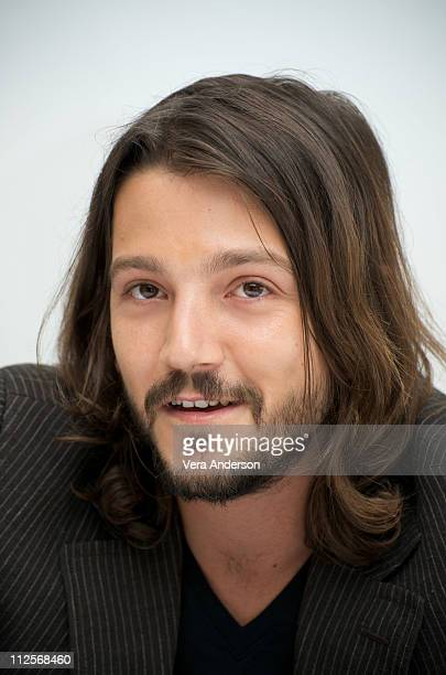 Diego Luna at the 'Rudo Y Cursi' press conference at the Four Seasons Hotel on May 4 2009 in Beverly Hills California