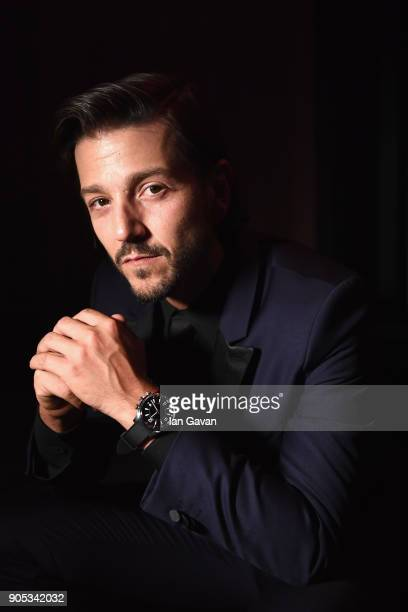 Diego Luna attends JaegerLeCoultre Polaris Gala Evening at the SIHH 2018 at Pavillon Sicli on January 15 2018 in Les Acacias Switzerland