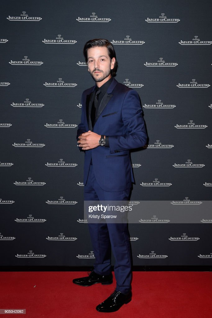 Diego Luna attends Jaeger-LeCoultre Polaris Gala Evening at the SIHH 2018 at Pavillon Sicli on January 15, 2018 in Les Acacias, Switzerland.