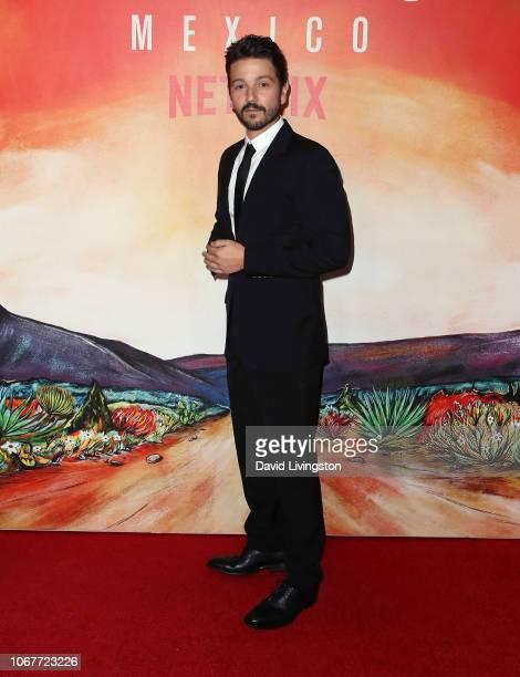Diego Luna attends Netflix's Narcos Mexico Season 1 Premiere at Regal Cinemas LA Live on November 14 2018 in Los Angeles California