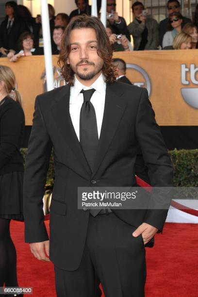 Diego Luna attends The 15th Annual Screen Actors Guild Awards at Shrine Auditorium on January 25 2009 in Los Angeles California