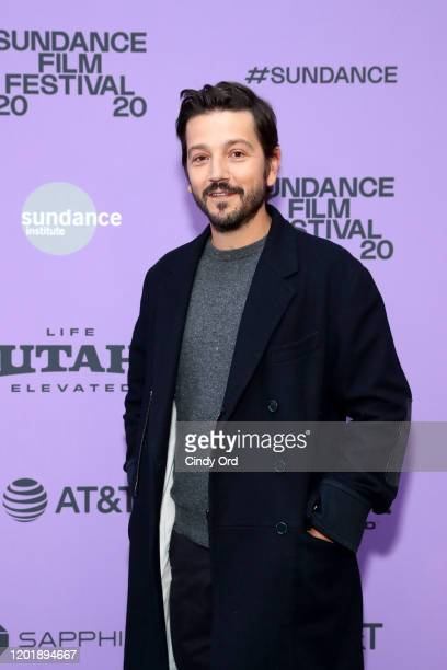 Diego Luna attends the 2020 Sundance Film Festival Wander Darkly Premiere at Library Center Theater on January 25 2020 in Park City Utah