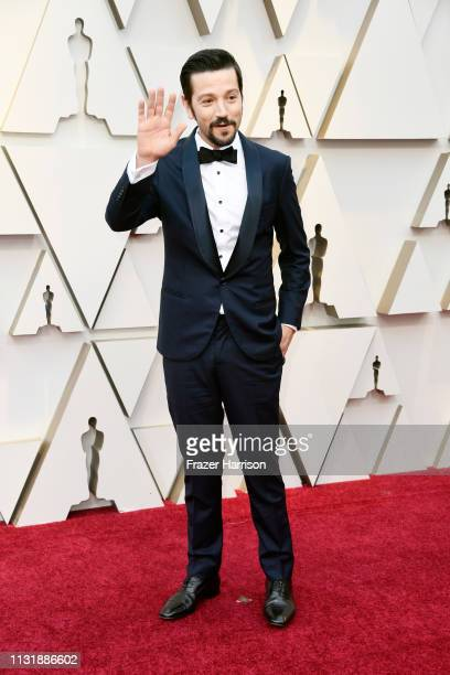 Diego Luna attends the 91st Annual Academy Awards at Hollywood and Highland on February 24 2019 in Hollywood California