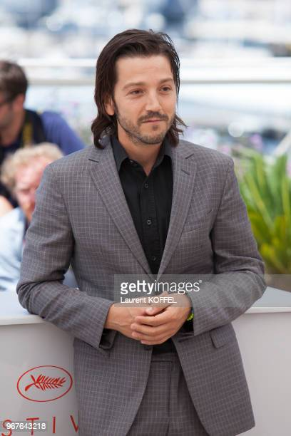 Diego Luna attends the 'Blood Father' photocall during the 69th annual Cannes Film Festival at Palais des Festivals on May 21 2016 in Cannes France