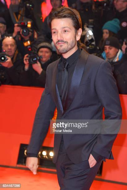 Diego Luna attends the 'Django' Premiere during the 67th Berlinale International Film Festival on February 9 2017 in Berlin Germany