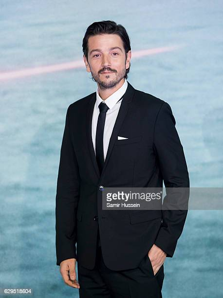 Diego Luna attends the launch event for Rogue One A Star Wars Story at Tate Modern on December 13 2016 in London England