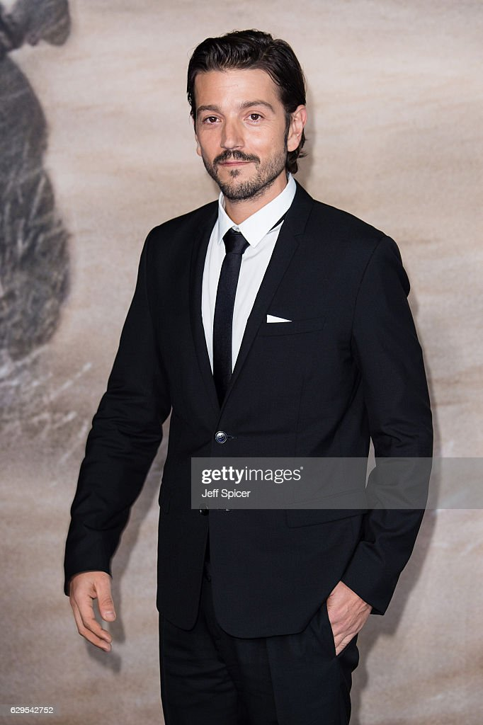 Diego Luna attends the launch event for 'Rogue One: A Star Wars Story' at Tate Modern on December 13, 2016 in London, England.