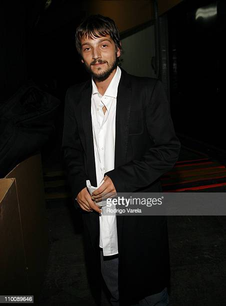 Diego Luna during MTV Video Music Awards Latin America 2006 - Audience and Backstage at Palacio de los Deportes in Mexico City, Mexico.