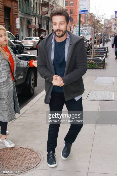 Diego Luna is seen on November 27 2018 in New York City