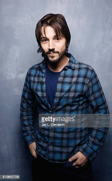 Diego Luna of the film 'Mr Pig' poses for a portrait at the 2016 Sundance Film Festival on January 25 2016 in Park City Utah CREDIT MUST READ Jay L...