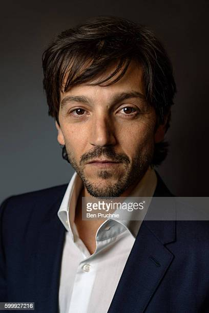 Diego Luna poses for a portrait during the Star Wars Convention 2016 on July 15 2016 in London England