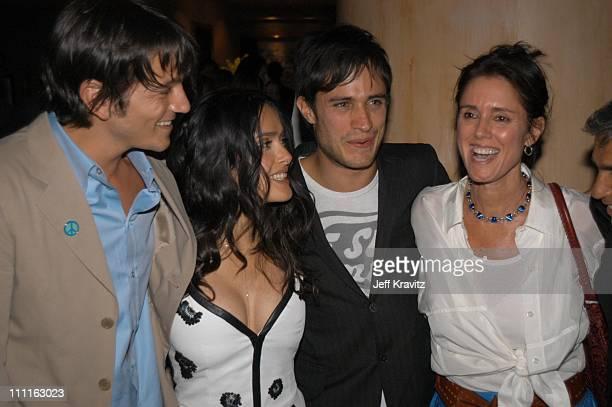 Diego Luna Salma Hayek and Gael Garcia Bernal and Julie Taymor