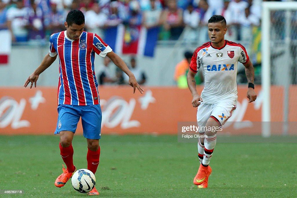 Bahia v Flamengo - Brasileirao Series A 2014