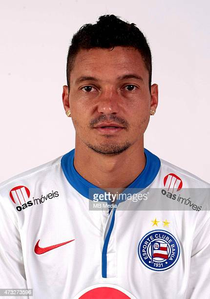Diego Macedo of Esporte Clube Bahia poses during a portrait session August 14 2014 in SalvadorBrazil