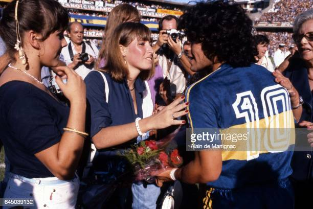 Diego MARADONA Boca Juniors / Instituto Championnat Argentine Photo Alain de Martignac / Icon Sport