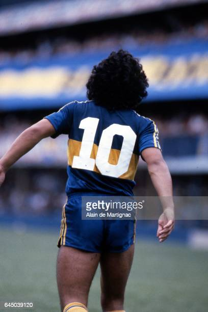 Diego Maradona Boca Juniors / Instituto Photo Alain de Martignac / Icon Sport