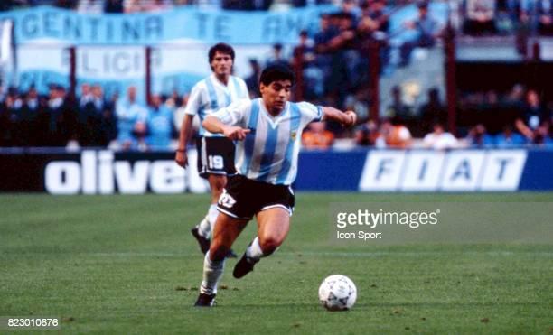 Diego MARADONA Cameroun / Argentine Match d'ouverture Coupe du Monde 1990