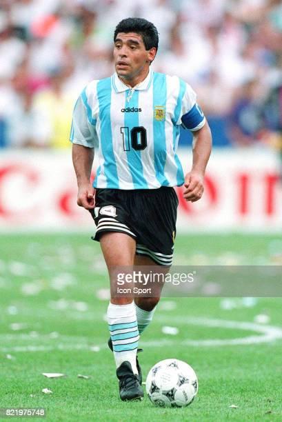 Diego MARADONA Argentine / Nigeria Coupe du Monde 1994 USA