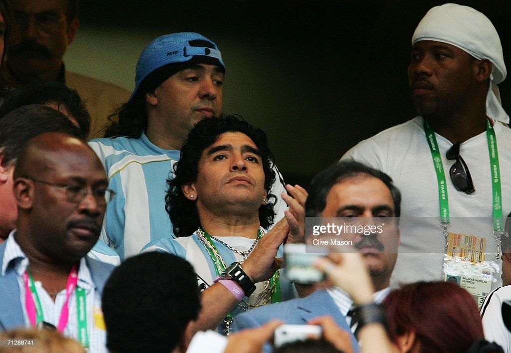 Round of 16 Argentina v Mexico - World Cup 2006 : News Photo