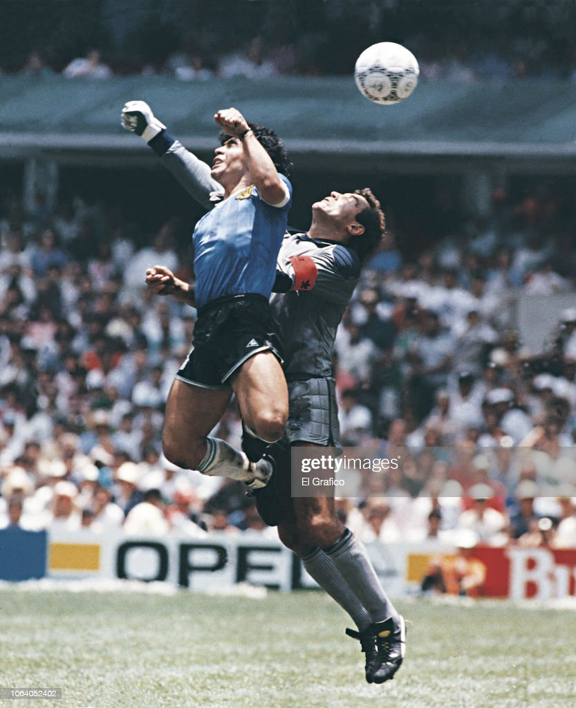 Diego Maradona - El Grafico Sports Archive : Photo d'actualité