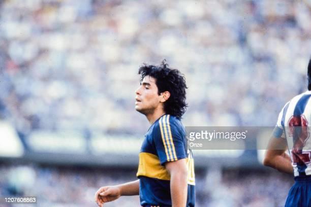 Diego Maradona of Boca Juniors in 1981 Onze / Icon Sport