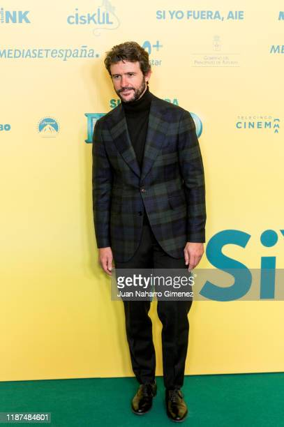 Diego Martin attends 'Si Yo Fuera Rico' premiere at Capitol Cinema on November 13 2019 in Madrid Spain