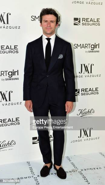 Diego Martin attends the 'Jorge Vazquez afterparty' photocall at Ventura street on July 11 2018 in Madrid Spain