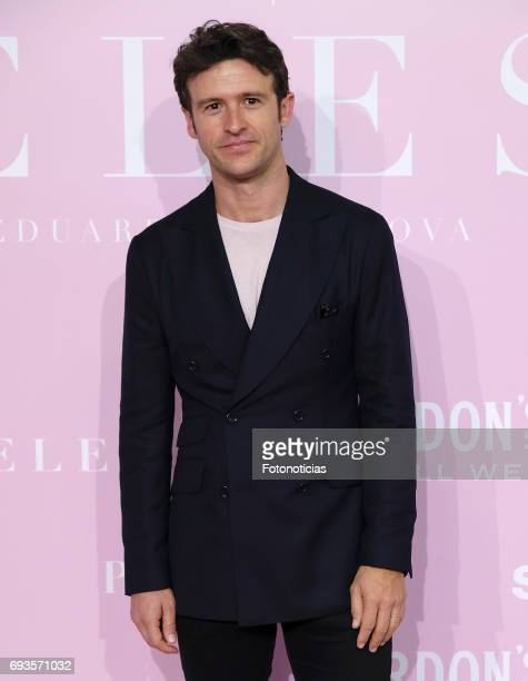 Diego Martin attends the 'Pieles' premiere pink carpet at Capitol cinema on June 7 2017 in Madrid Spain