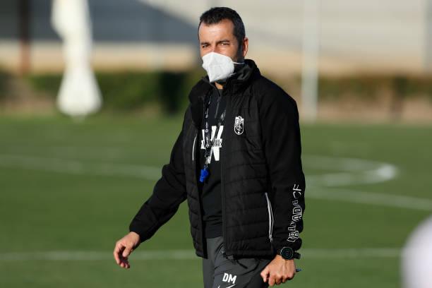 ESP: Granada Training Session Before UEFA Europa League Match