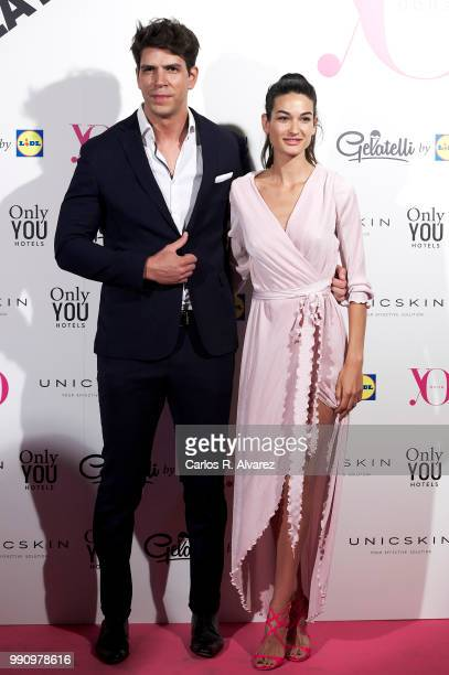 Diego Matamoros and Estela Grande attend the 'Yo Dona' party at Only You Hotel Atocha on July 3 2018 in Madrid Spain
