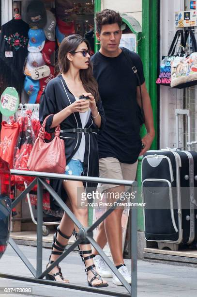Diego Matamoros and Estela Grandes are seen on May 4 2017 in Madrid Spain