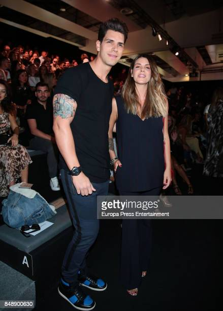 Diego Matamoros and Laura Matamoros are seen during MercedesBenz Fashion Week Madrid Spring/Summer 2018 at Ifema on September 15 2017 in Madrid Spain