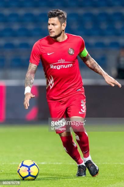 Diego Ângelo de Oliveira of Antalyaspor AS during the Turkish Spor Toto Super Lig match between Kasimpasa AS and Antalyaspor AS at the Recep Tayyip...