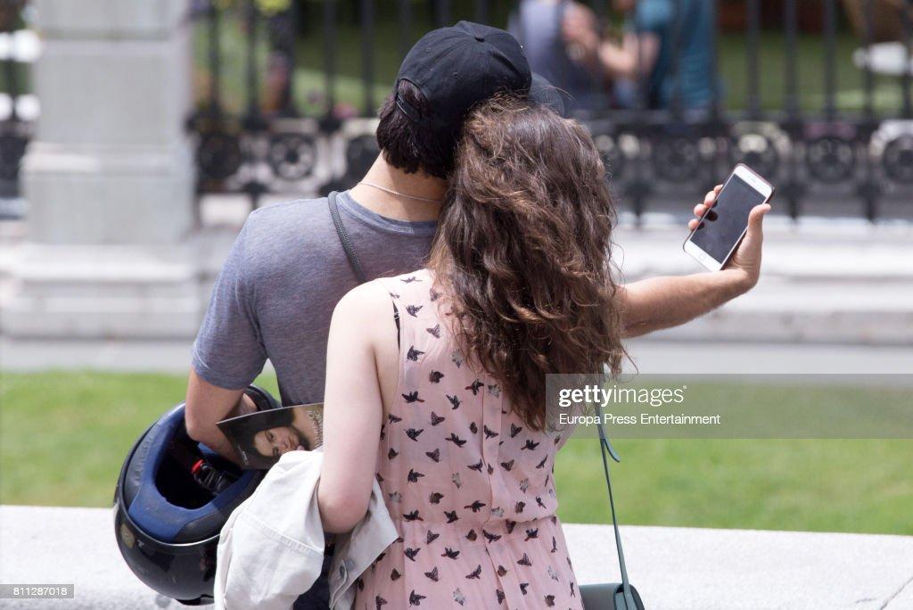 Celebrities Sighting In Madrid - June 03, 2017 : Fotografía de noticias