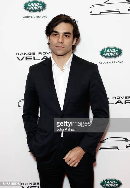Diego Osorio arrives at the launch of the New Range Rover Velar on March 1 2017 in London United Kingdom