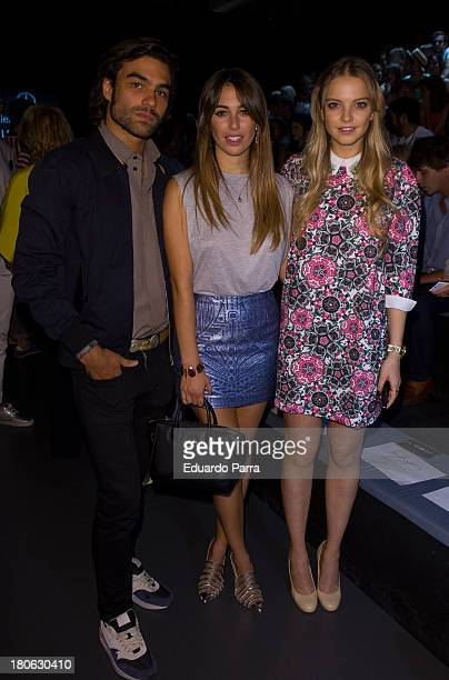 Diego Osorio attends a fashion show during the Mercedes Benz Fashion Week Madrid Spring/Summer 2014 on September 15 2013 in Madrid Spain