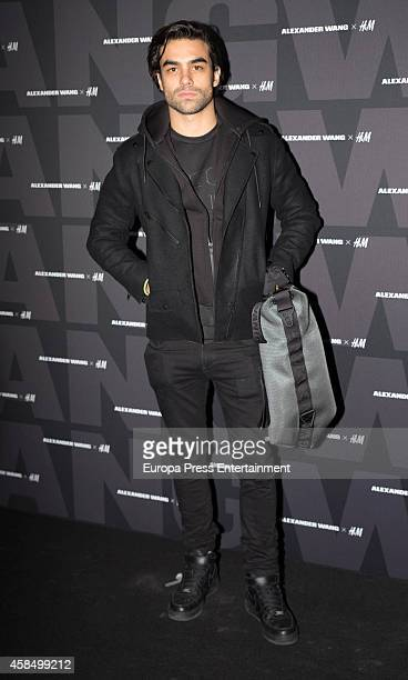 Diego Osorio attends Alexander Wang X HM Party on November 5 2014 in Madrid Spain