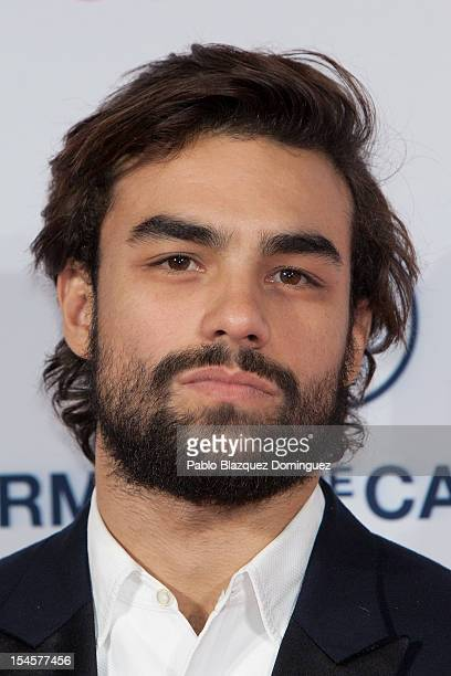 Diego Osorio attends Cosmopolitan Fun Fearless Awards 2012 at Ritz Hotel on October 22 2012 in Madrid Spain