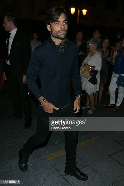 Diego Osorio attends FIBA Private Party on September 14 2014 in Madrid Spain