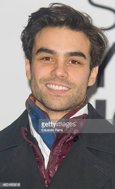 Diego Osorio attends Jockey new collection presentation at Price circus on January 29 2015 in Madrid Spain