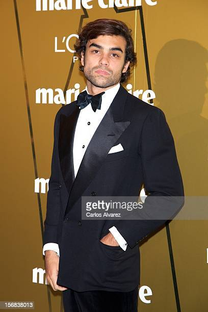 Diego Osorio attends Marie Claire Prix de la Moda Awards 2012 at the French Embassy on November 22 2012 in Madrid Spain