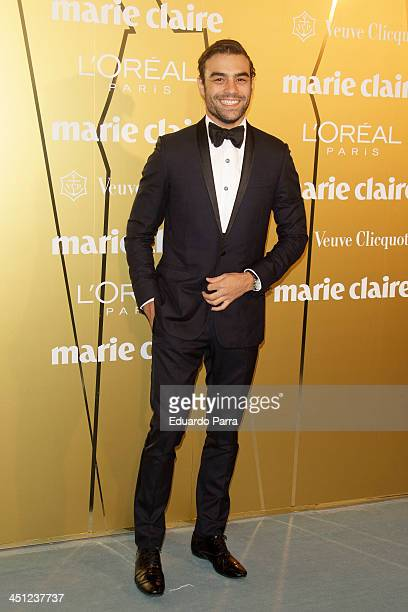 Diego Osorio attends 'Marie Claire Prix de la moda' awards 2013 photocall at Residence of France on November 21 2013 in Madrid Spain