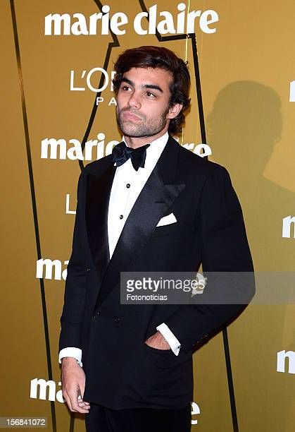 Diego Osorio attends 'Marie Claire Prix de la Mode 2012' ceremony at the French Ambassadors Residence on November 22 2012 in Madrid Spain
