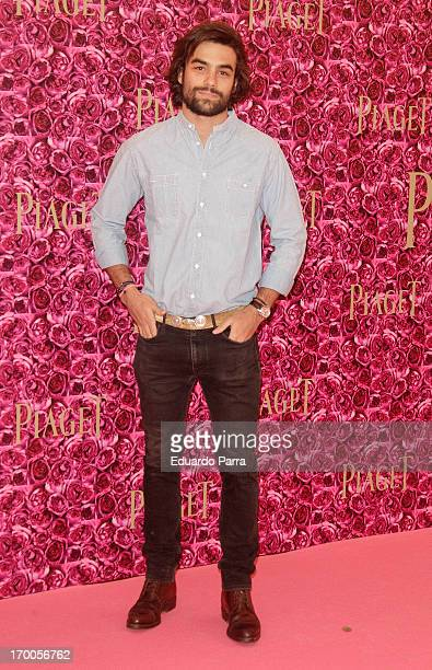 Diego Osorio attends Piaget private Dinner photocall at Kabuki restaurant on June 6 2013 in Madrid Spain