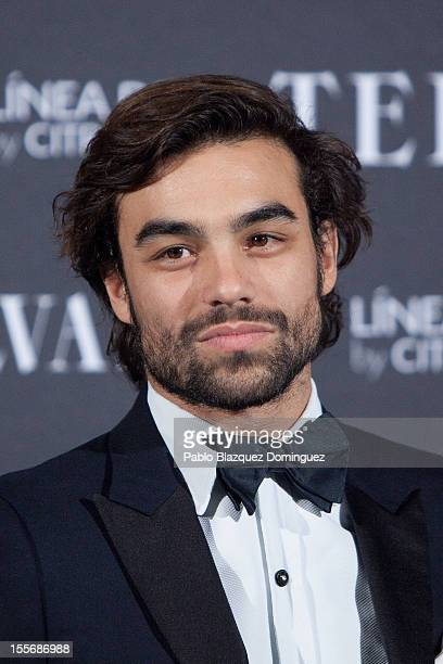 Diego Osorio attends Telva Fashion Awards at Palace Hotel on November 6 2012 in Madrid Spain