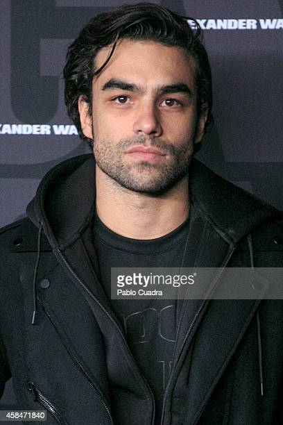 Diego Osorio attends the Alexander Wang X HM Party at 'But' Club on November 5 2014 in Madrid Spain