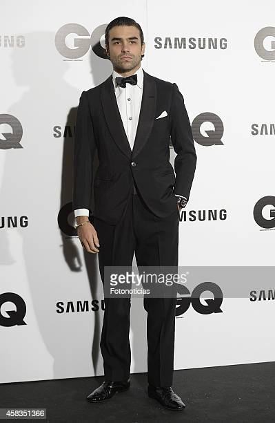 Diego Osorio attends the GQ 2014 Men of the Year Awards ceremony at the Palace Hotel on November 3 2014 in Madrid Spain